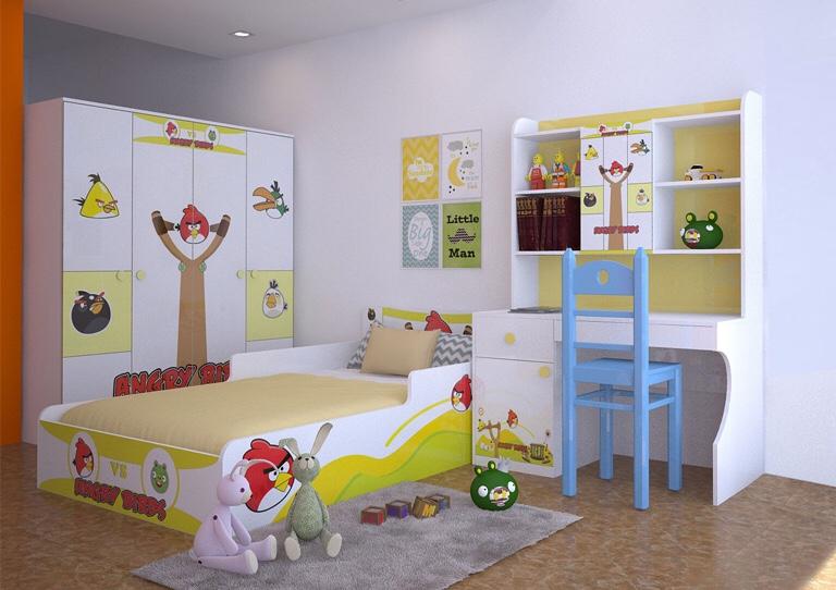 Bộ Giường Ngủ Trẻ Em DP-56